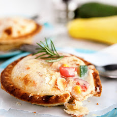 Summer Vegetable Chicken Pot Pies