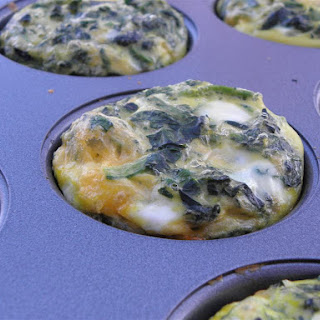 Spinach, Bacon & Egg Quiche Cups