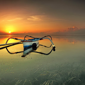 First Light by Agoes Antara - Transportation Boats