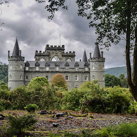 Invernary Castle  by Jolyon Vincent - Buildings & Architecture Public & Historical