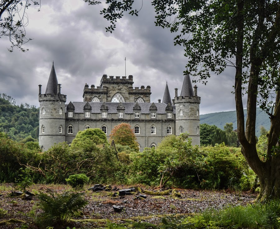 Invernary Castle  by Jolyon Vincent - Buildings & Architecture Public & Historical