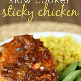 Slow Cooker Sticky Chicken
