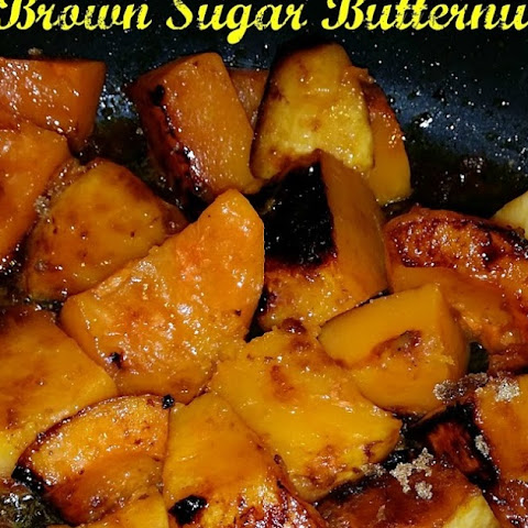 Citrus and Brown Sugar Butternut Squash