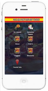 Málaga Restaurants and Bars - screenshot