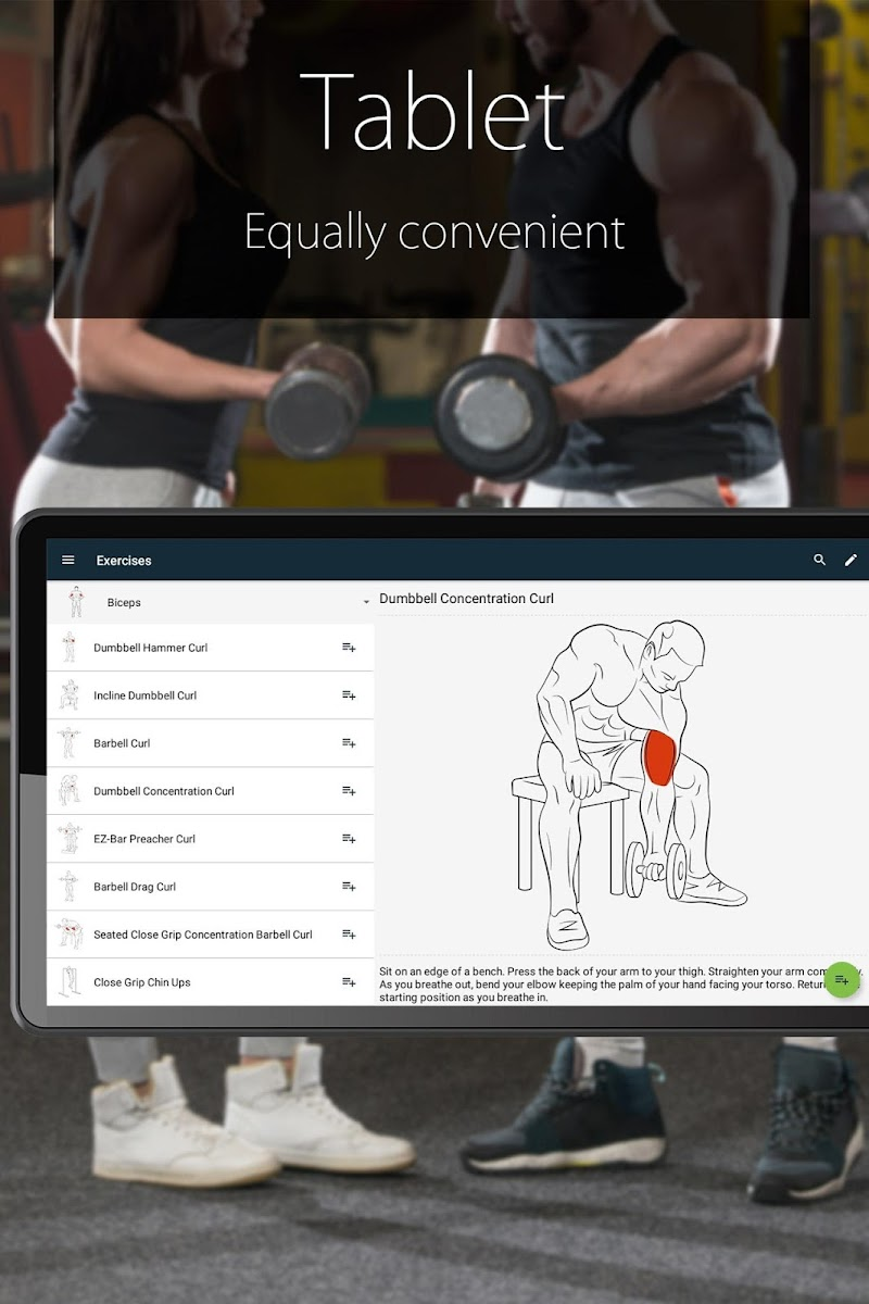 Fitness Trainer FitProSport FULL Screenshot 8
