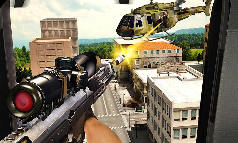 Gangster Escape Shooter 3D Screenshot 1