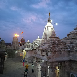 Historical Temple by Siddharth Bambole - Buildings & Architecture Public & Historical ( honor, temple, evening, god, photography )
