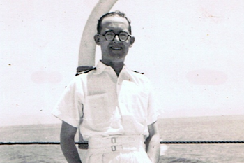 My Father Who Was a Naval Officer, 1947​
