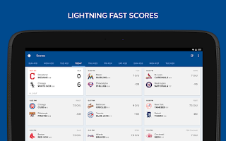 Screenshot of CBS Sports
