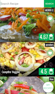Vegan Recipes - screenshot