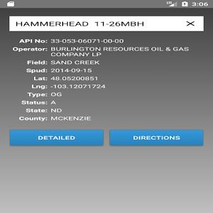 Bakken Well Navigator For PC