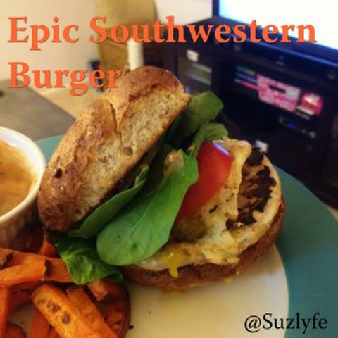 Epic Southwestern Burger with House Aioli
