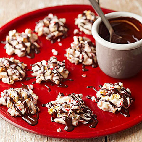 Peppermint Pretzel Candies