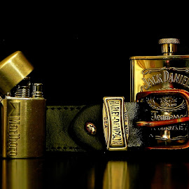 The Collection by Nedelciu Alexandru - Artistic Objects Clothing & Accessories ( harley, flask, marlboro, jack, davidson, belt )