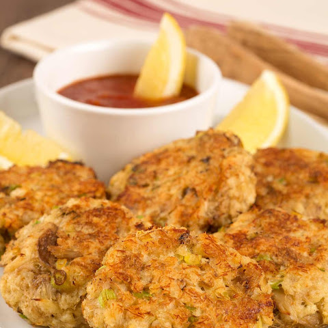 Quick Baked Crab Cakes