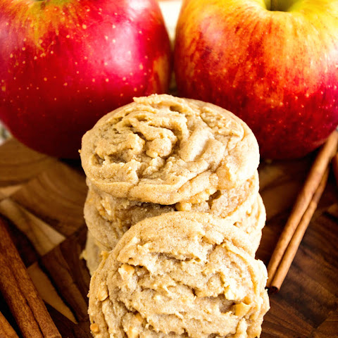 Apple Peanut Butter Cookie