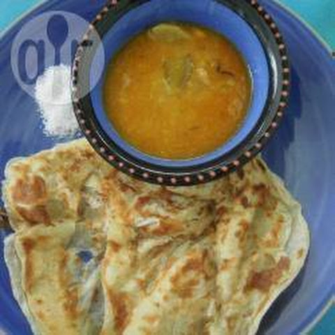 Roti Canai/Paratha (Indian Pancake)