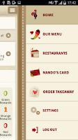 Screenshot of Nando's