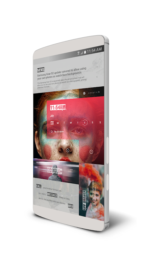 MaGaziNe UI for KLWP Screenshot 5