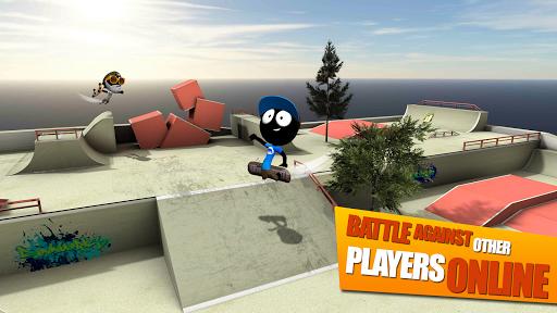 Stickman Skate Battle screenshot 11