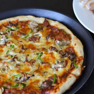 Cheesy Beef Mushroom Pizza Recipes