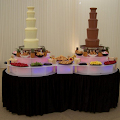 Twin Chocolate Fountain