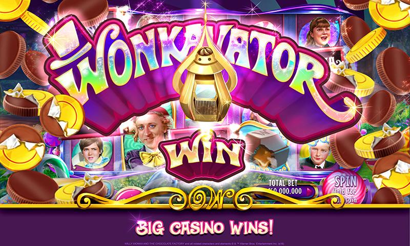 Willy Wonka Slots Free Casino Screenshot