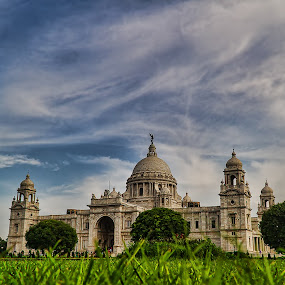 by Souvik Goswami - Buildings & Architecture Public & Historical ( kolkata, india, victoria memorial )