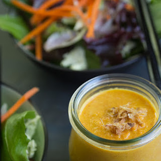 Ginger and Carrot Japanese Salad Dressing
