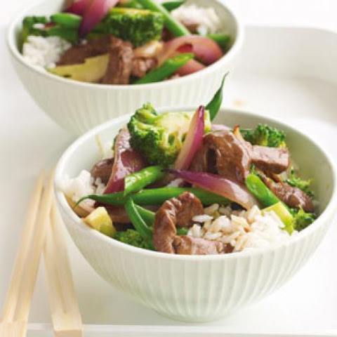 Beef And Broccoli Stir-fry With Plum Sauce