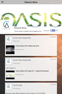 Church Alive App - screenshot