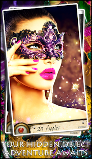Hidden Object Masquerade Mask - screenshot