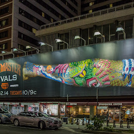 New York Billboard by Barry  Stead - Buildings & Architecture Other Exteriors