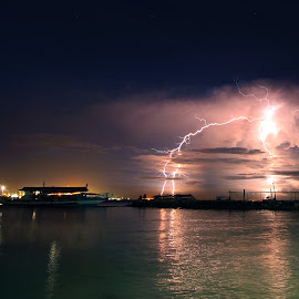 Lightning by IK Vasquez - Landscapes Weather (  )