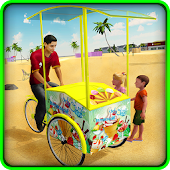 Free Beach Ice Cream Delivery SIM APK for Windows 8