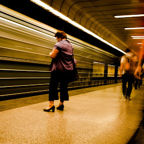 Subway by Péter Nagy - Transportation Other ( budapest, subway, bkv, metro, transportation, undergroun, city )