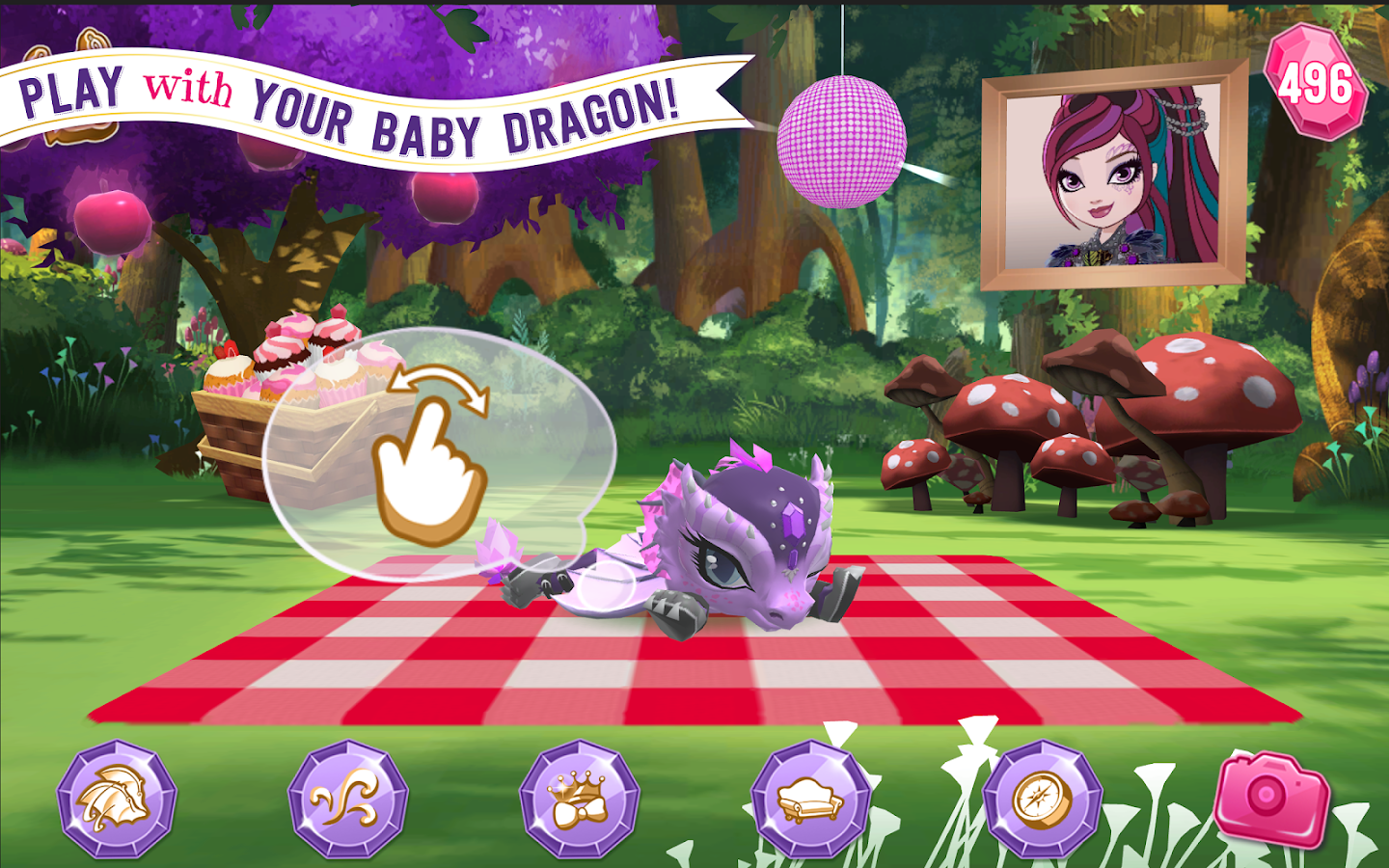 Ever After High™: Baby Dragons Screenshot 13
