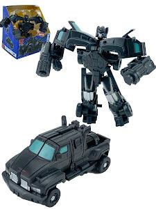 """Робот серии """"Город Игр"""" Трансформер S2 - Машинка, черный"""
