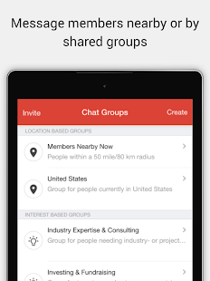 Network for Vodafone Alumni - screenshot
