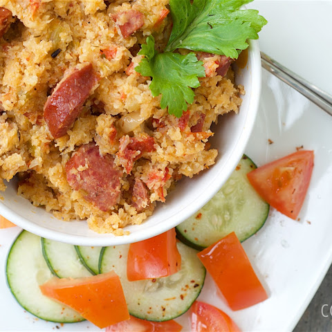 """Skinny"" Jambalaya with Smoked Sausage"
