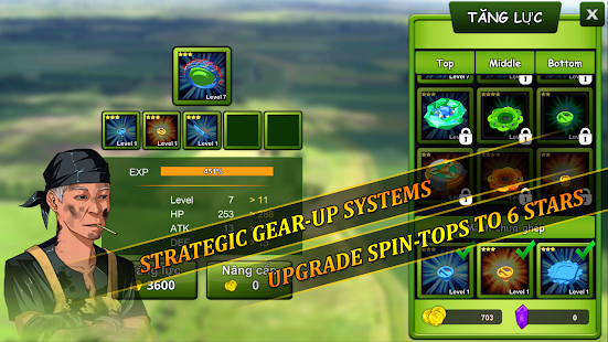 Game Spin Top Fighter apk for kindle fire
