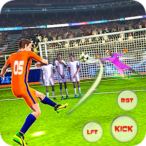 Flick Football league Soccer Strike for PC-Windows 7,8,10 and Mac