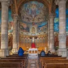 Tibidabo by Dragica Šilak - Buildings & Architecture Public & Historical ( church, barcelona, tibidabo )