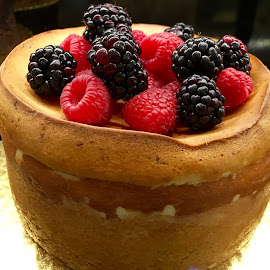 Cake with Berries by Lope Piamonte Jr - Food & Drink Cooking & Baking