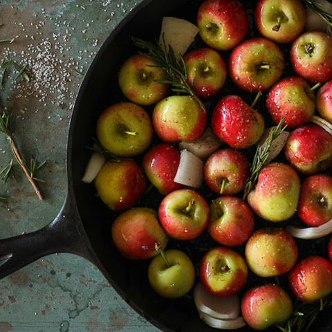Roasted Crimson Gold Apples