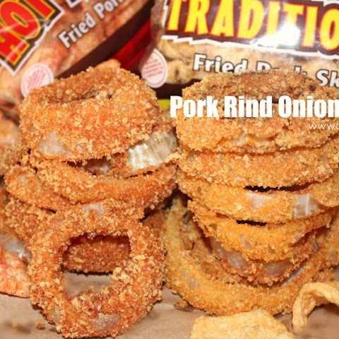 ~Pork Rind {Chicharrón} Onion Rings!