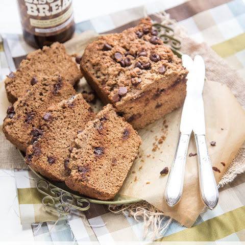 Whole Wheat Chocolate Chip Beer Bread