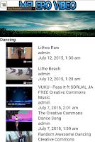 Screenshot of Melero Video - Stream & upload