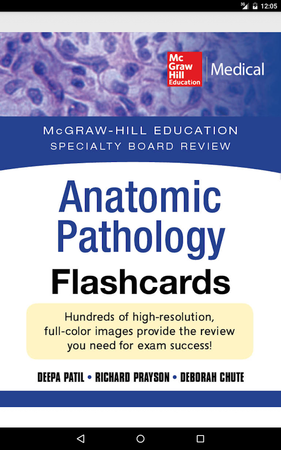 Anatomic Pathology Flashcards Screenshot 16