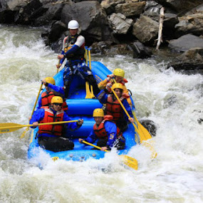 Rafting. by Kaylana Fief - Sports & Fitness Watersports ( water, clear creek, rafting )